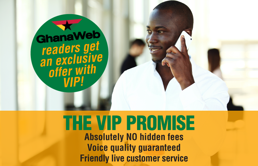 Ghanaweb readers get an exclusive offer with VIP