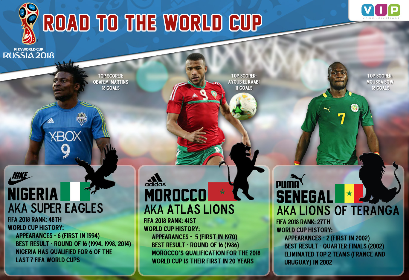 Road to World Cup Infographic