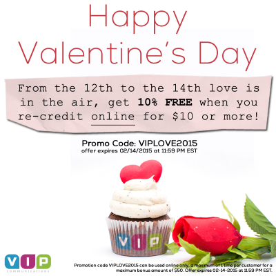 VIP Communications Valentine's Day 2015
